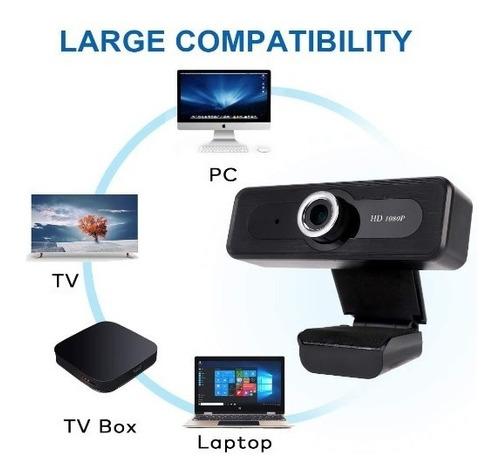 Imagen 1 de 6 de Cámara Web 1080p Con Micrófono