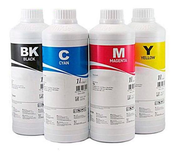 Tinta Corante Inktec Epson - Kit 4x 500ml