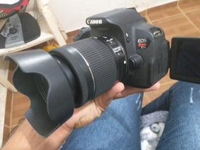 Câmera Canon T5i Lente 18-55mm Is Stm