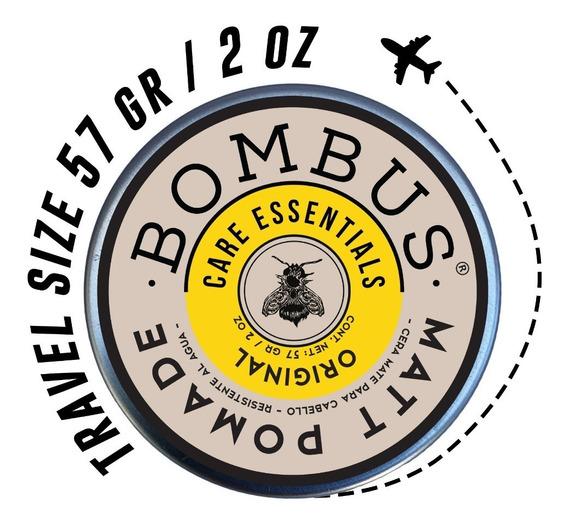 Cera Mate Para Cabello. Bombus® Original Matt Pomade (57 Gr)