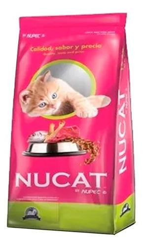 Imagen 1 de 1 de Nucat Croquetas | Alimento Gato  | 15kg Cosido Original