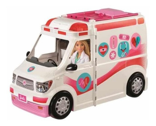 Barbie Ambulancia Consultorio Movil