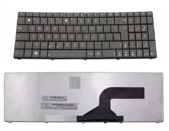 Teclado Notebook Asus Ul50 Ux50 A52 W90 X55 X64 X72 N61 A53