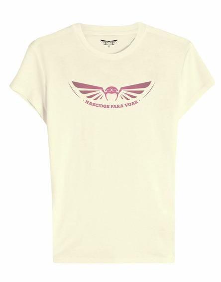 Camiseta Feminina Brand Nv35 Nascidos P/ Voar Paraquedas
