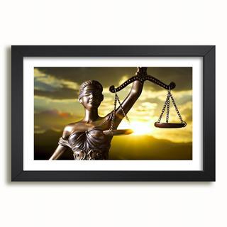 Quadro Advocacia Deusa Da Justiça Direito Advogado