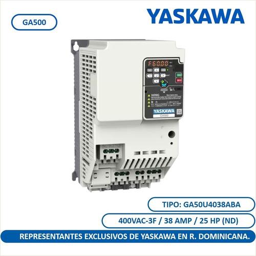Ga500 25 Hp Variador De Frecuencia Yaskawa Uso Industrial