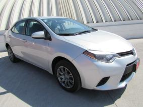 Toyota Corolla Base Tm 2015 Plata Comonuevo 3 Años Garantia