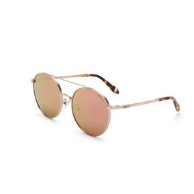 19fd8016d Oculos Sol Colcci C0104 Rose Gold Brilho/l Marrom Revo C/ Nf