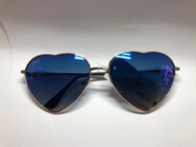 31d00c7c3 Óculos De Sol Coração Espelhado - Óculos no Mercado Livre Brasil