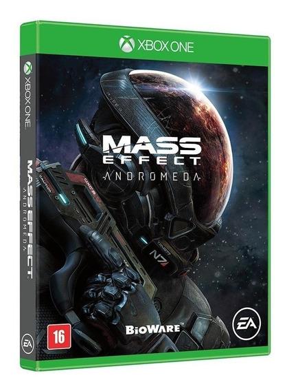 Jogo Xbox One Mass Effect Andromeda Midia Fisica Lacrado