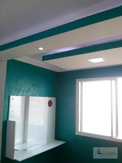 Apartamento Com 2 Dormitórios À Venda, 44 M² - Recanto Da Fortuna - Campinas/sp - Ap6437