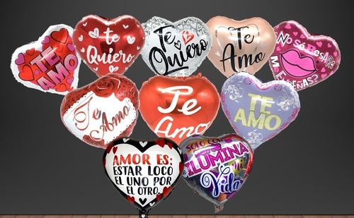 Globos Amor X 24 Surtidos + Varillas