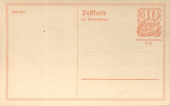 Alemania - Reich - Entero Historia Postal (#5004)