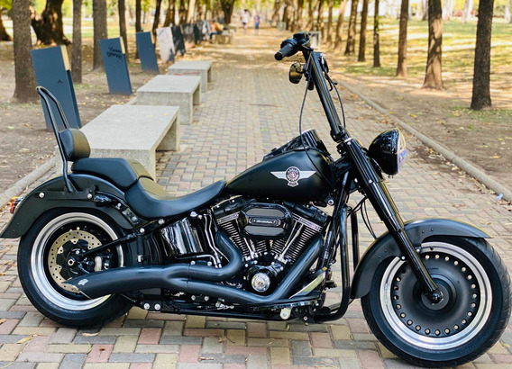 Harley Davidson Fat Boy 110 Screaming Eagle Con Accesorios