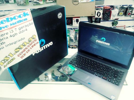 Notebook Positivo Core I3 7th Geração 4gb 1tb Hd