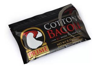 Uso Durable Logo Oro Orgánico Wick N Vape Algodón Bacon Pr