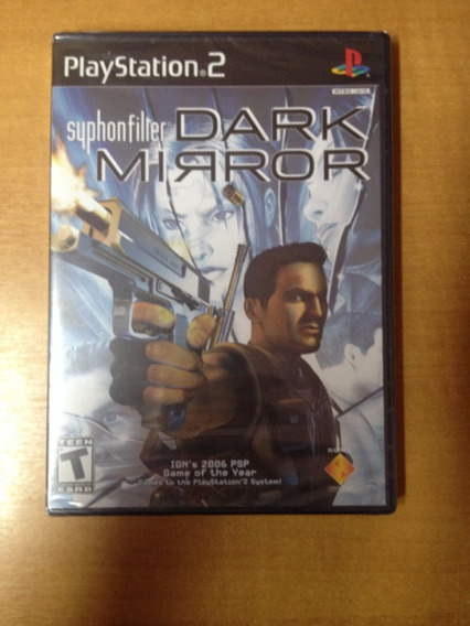 Ps2 Syphon Filter Dark Mirror Novo Lacrado