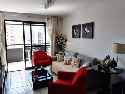 Apartamento Com 3 Quartos À Venda, 122 M², Área De Lazer, 2 Vagas - Salinas - Fortaleza/ce - Ap1657