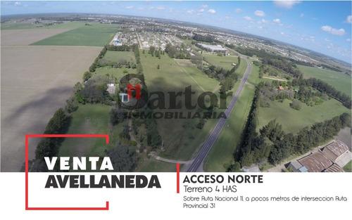Imagen 1 de 1 de Terreno En Venta Sobre Ruta Nacional 11, Avellaneda Santa Fe
