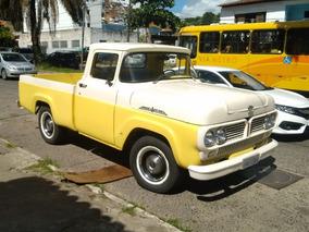 Ford F100 Ano 1965 Modelo Passeio Originalissima