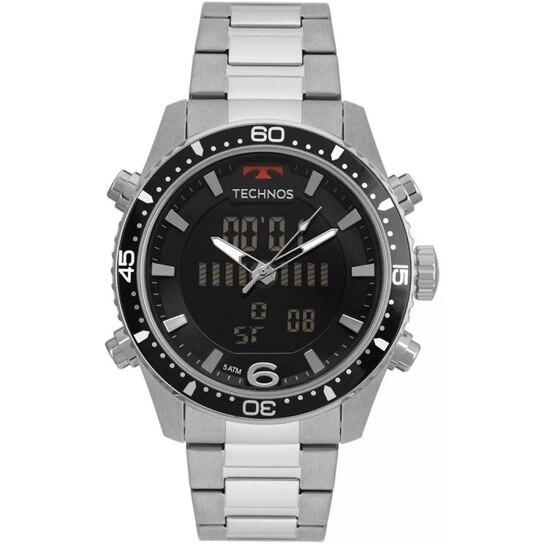 Relógio Masculino Technos Anadigi Bjk203aac/1p