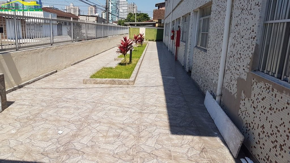 Kitão No Canto Do Forte, 1 Vaga, Portaria, Confira Na Imobiliária Em Praia Grande. - Mp9094