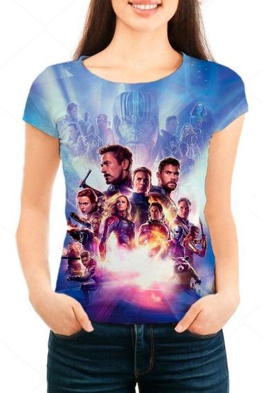 Camiseta Babylook Feminina Vingadores Ultimato Mod 06 - Prom