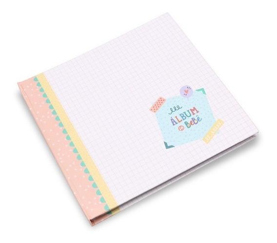 Album Livro Diário Do Bebê + Bloquinho Rotina Do Bebê