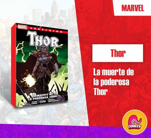 Imagen 1 de 2 de Comic La Muerte De La Poderosa Thor Español Latino