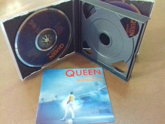 Cd Queen - Live At Wembley 86 Importado