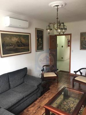 Apartamento Com 3 Dormitórios À Venda, 110 M² Por R$ 300.000 - Itararé - São Vicente/sp - Ap2851