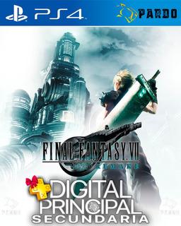 Final Fantasy Vii 7 Remake Ps4 Plus Gratis Digital Pardo