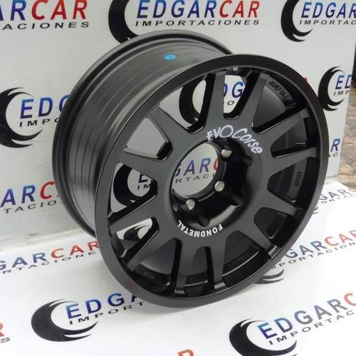 Vendo Aros Evo Corse R17 6 Huecos Rin 17 6h 139.7mm Nuevos