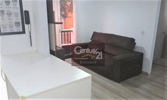 Lindo Apartamento Mobiliado. Locação R$1.300,00 - Ap0306