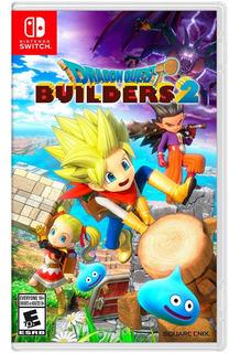 Dragon Quest Builders 2 Nintendo Switch Nuevo En Español