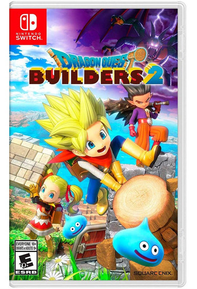 Juegos Nintendo Switch Dragon Quest Builders 2 En Español /u