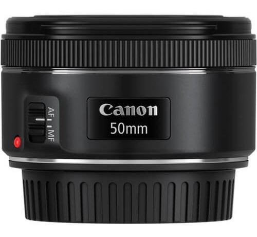Imagem 1 de 7 de Lente Canon 50mm F/1.8 Stm Auto-foco Garantia Canon Oficial