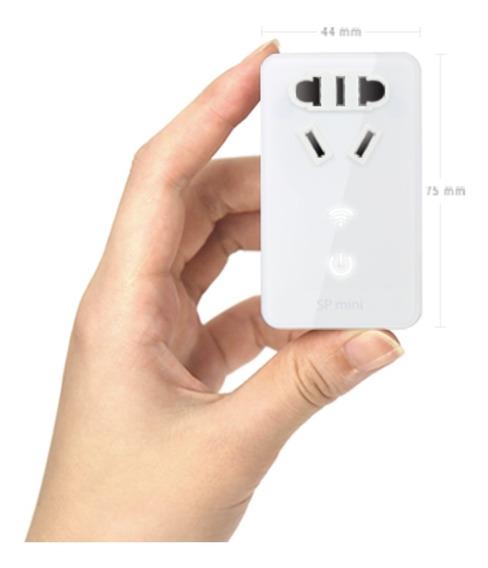Broadlink Sp Mini Tomada Inteligente Automação Residencial Sem Fio Wireless - A Casa Inteligente