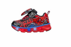 Tenis Con Luces Spiderman Niño Oferta