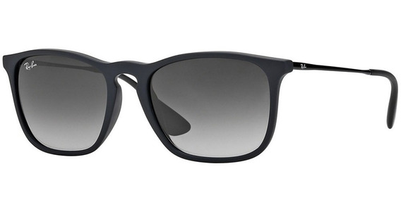 Ray-ban Chris Rb4187l 622/8g 54 - Preto/cinza Gradiente