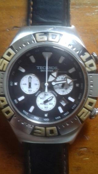 Relógio Technos Skymaster 100 Metros Prova D