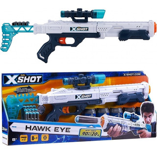 Escopeta Hawk Eye Rifle Sniper Pistola Dardos X-shot Nerf