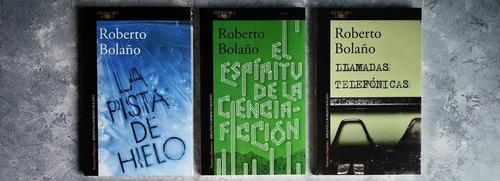 Imagen 1 de 3 de Roberto Bolaño - Pack 6 Libros
