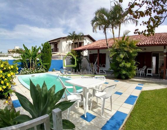 Casa Com Piscina, Residencial Á Venda Em Condomínio Fechado Á 300m Da Praia Dos Ingleses Florianópolis - Ca00121 - 32058151