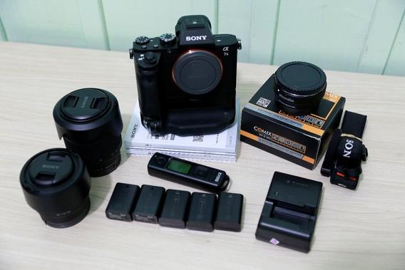 Camera Sony A7ii + Lentes 28-70 E 50mm