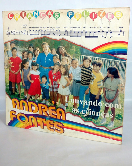 Lp Andrea Fontes Louvando Com As Crianças - Crianças Felizes