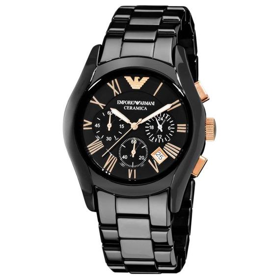 Relógio Ea Masculino Ceramica Ar1410