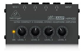 Amplificador De Fones Behringer Ha400 Bivolt