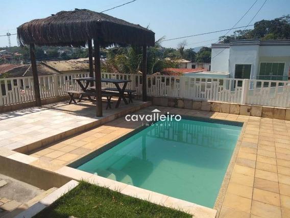 Casa Com 4 Dormitórios À Venda, 250 M² - Flamengo - Maricá/rj - Ca3818