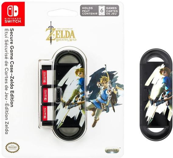 Case Secure Game - Edição Zelda - Oficial Nintendo Switch